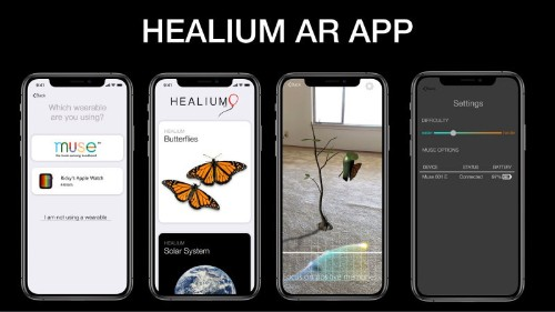Healium uses VR, AR, or wearables to reduce anxiety