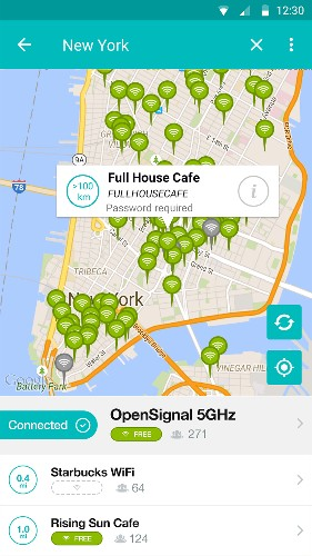 OpenSignal launches WifiMapper on Android to help you find the world's free Wi-Fi hotspots