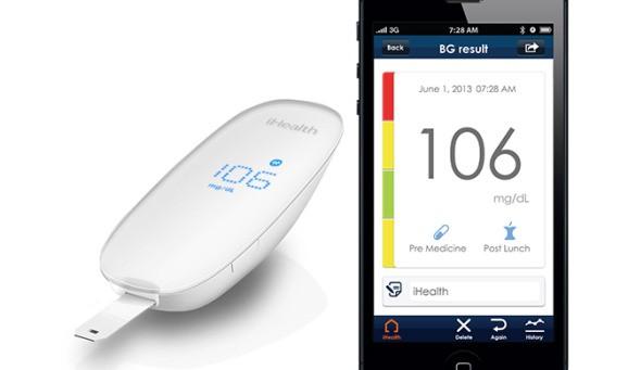 iHealth Lab's new app-enabled glucose monitor brings Apple-like sleekness to diabetics
