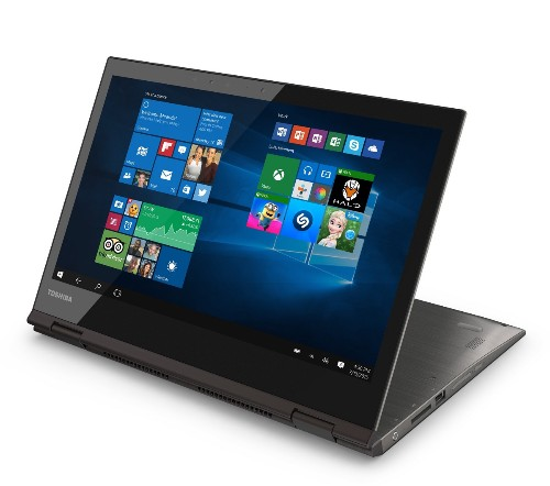 Toshiba unveils 12.5-inch 4K convertible laptop