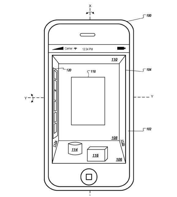 Apple awarded patent for Amazon Fire phone-like 3D display