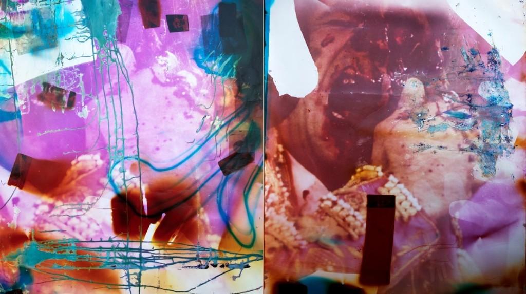 Los collages etéreos de Harley Weir