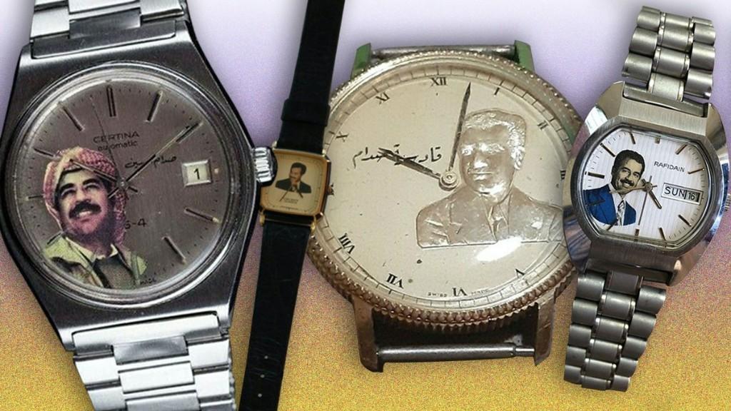 C'est quoi le délire des montres Saddam Hussein en vente sur eBay ?