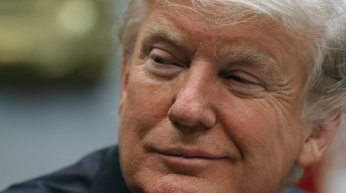 Trump's Skin Is Just That Color from 'Good Genes,' Says White House