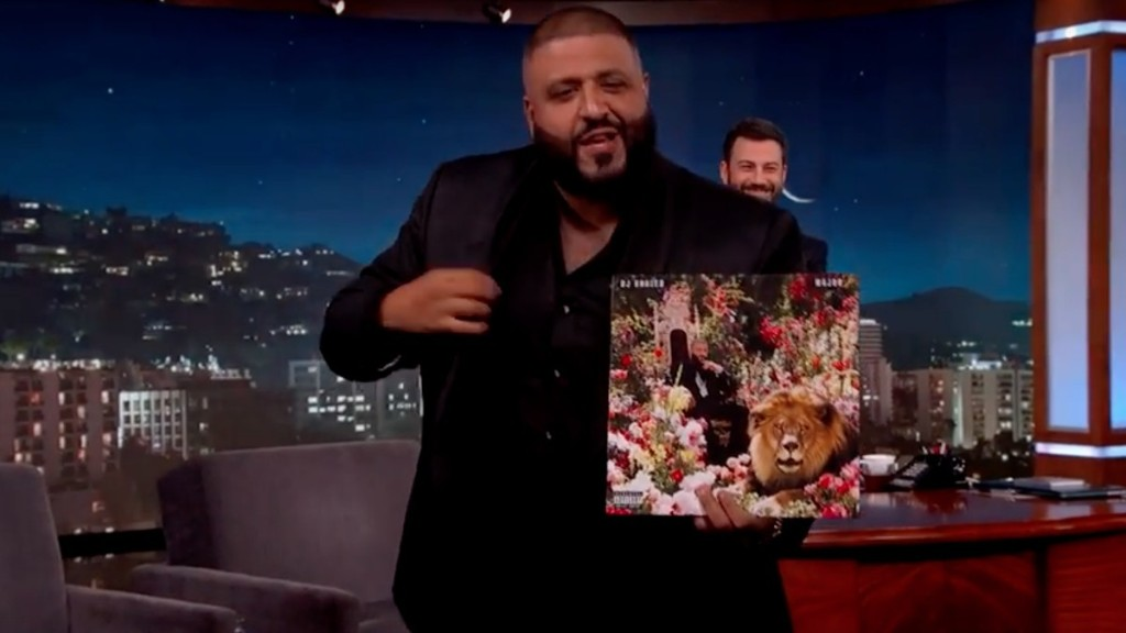 DJ Khaled Reveals 'Major Key' Album Cover Which Is the Greatest Album Cover Maybe Ever