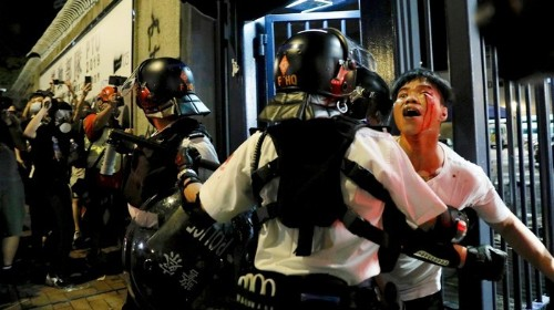 China Just Released A Video Threatening Pro-Democracy Protesters In Hong Kong. It's Chilling.