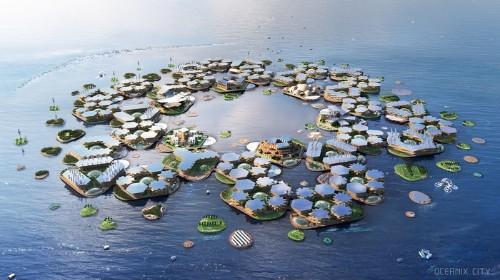 L'ONU soutient un projet de ville flottante résistante aux catastrophes naturelles