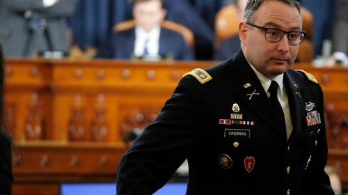 The White House Attacked Lt. Col. Vindman While He Was Testifying
