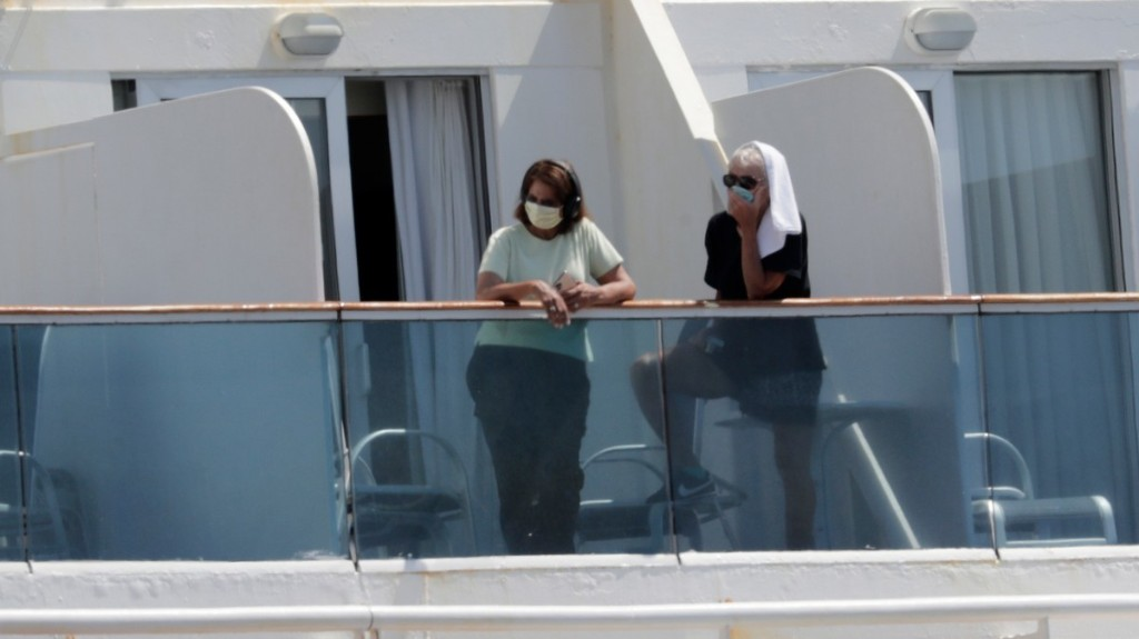 A Coronavirus-Stricken Cruise Ship Spent Weeks Trying to Dock. It Just Arrived in Miami With Two Dead People Aboard.