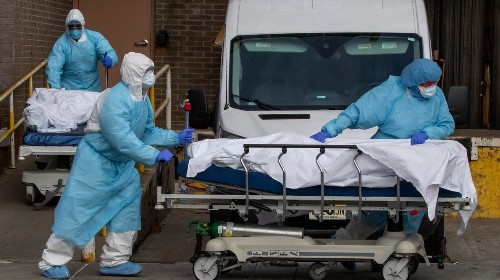 The Pentagon Is Trying to Buy 50,000 Body Bags for People Expected to Die of Coronavirus