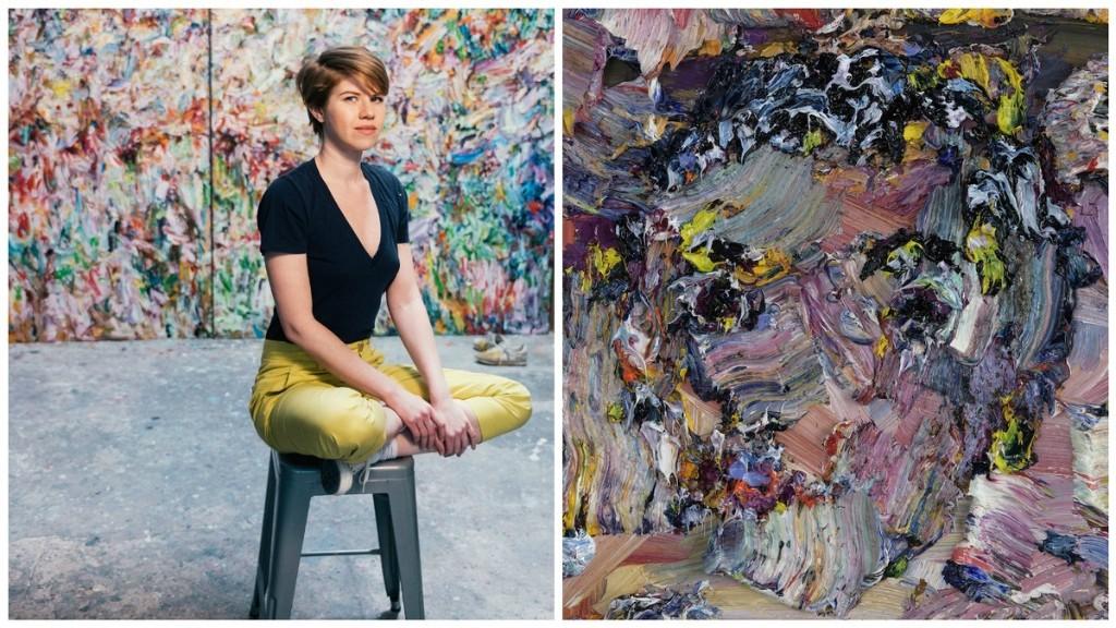 Self-Taught Painter Sculpts Monumental Portraits With Oil Paint