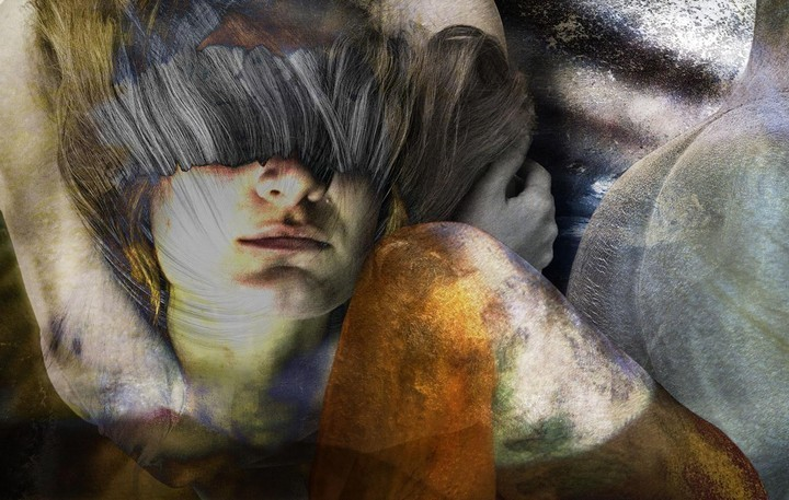 These Layered Photo-Paintings Are Several Works of Art at Once