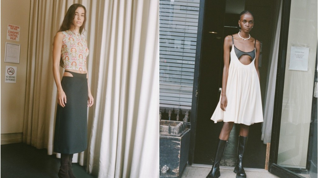 Sandy Liang's SS21 collection is a cheeky tribute to 00s youth