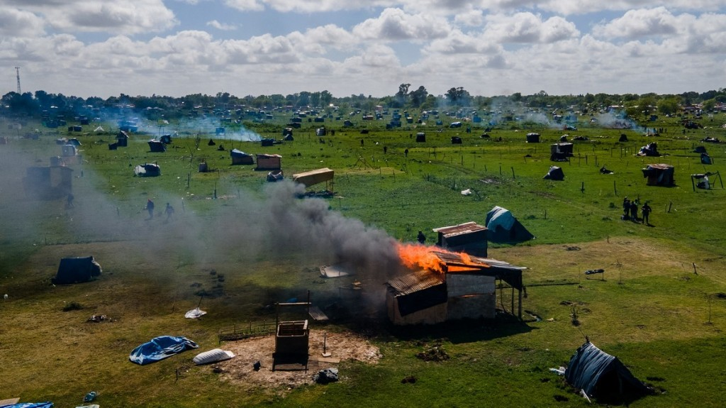 Argentina Just Bulldozed a Camp Filled With Families Made Homeless by COVID