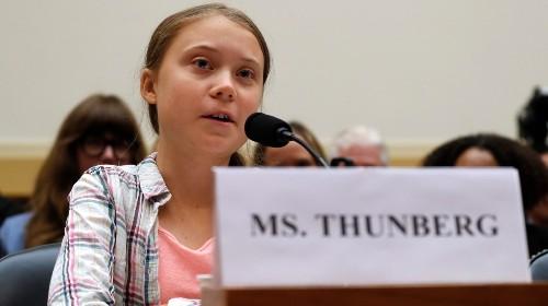 Greta Thunberg Can't Stop Roasting Congress
