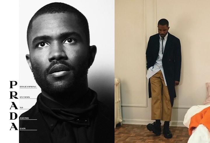 Frank Ocean is the new face of Prada