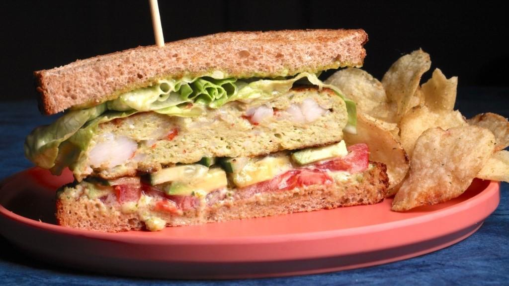 VICE - Shrimp and Pesto Sandwich Recipe