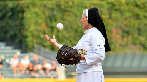The Nun Who Threw a Perfect Pitch Told Us How She's So Darn Good at Baseball