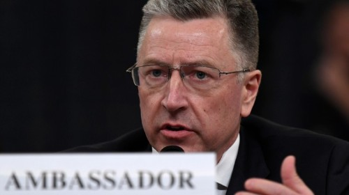 Kurt Volker, A GOP Impeachment Witness, Just Trashed a Favorite GOP Talking Point