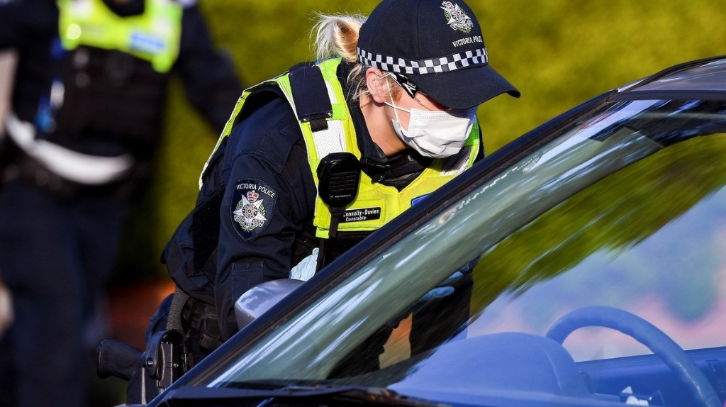 Australian Anti-Masker 'Smashed the Head of a Policewoman Several Times Into Concrete' After Being Asked to Wear Mask