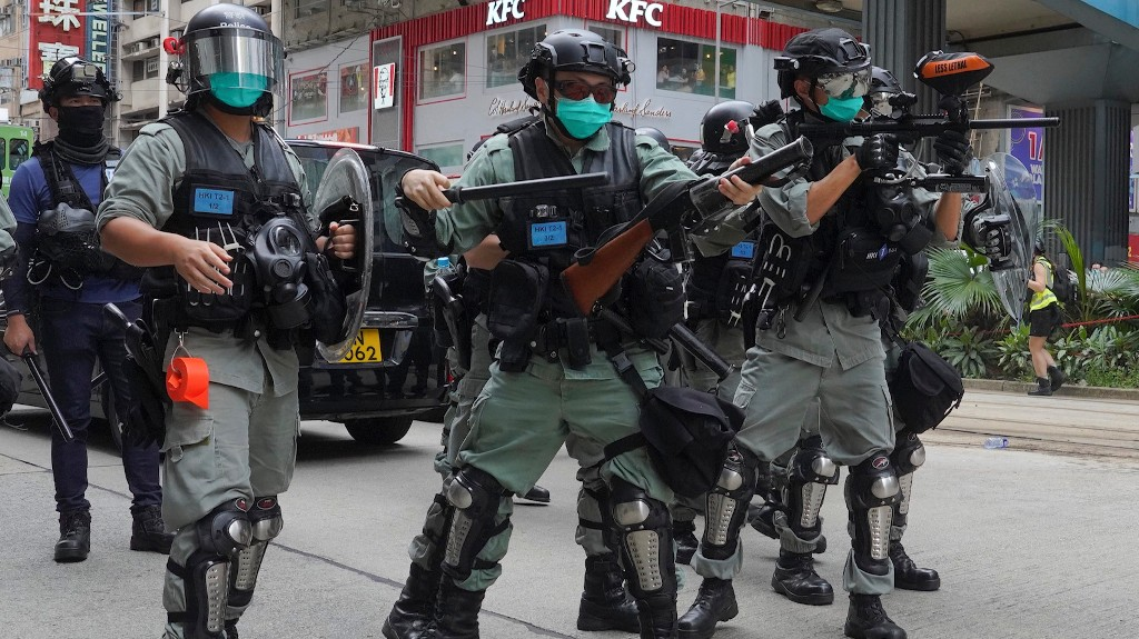 Hong Kong's Government Is Now Calling Pro-Democracy Protesters Terrorists