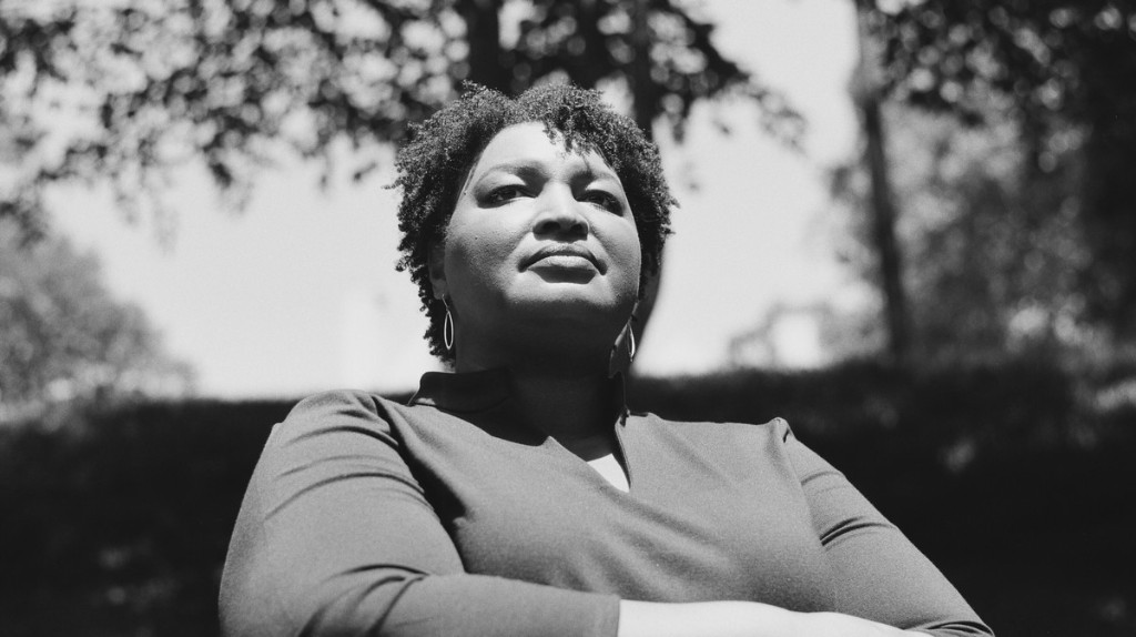 """Stacey Abrams: """"Our excitement should never center around a single person"""""""