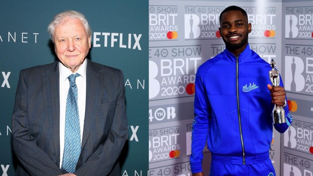 Dave and Sir David Attenborough are collaborating