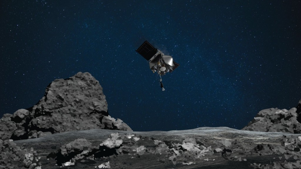 NASA Landed a Probe on an Ancient Asteroid and Took a Sample In First for U.S.