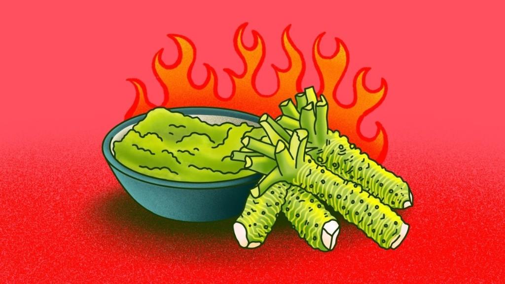 De 'wasabi' die je eet is nep