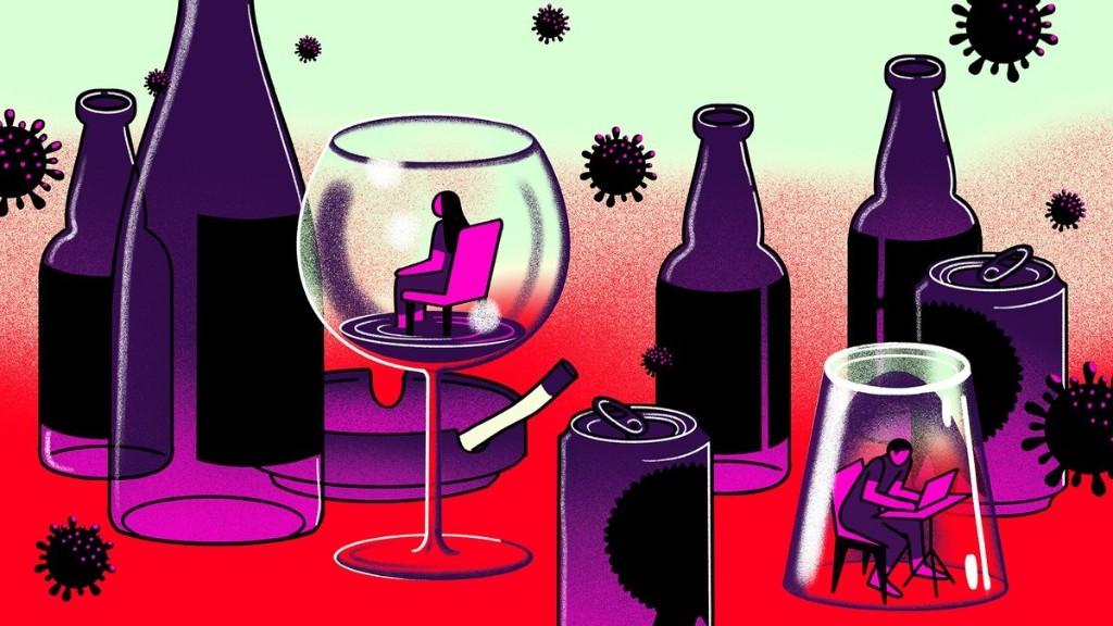 Que faire si vous buvez beaucoup trop pendant le confinement ?