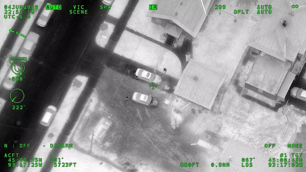 This Is Footage From a Spy Plane That Flew Above George Floyd Protests in Minneapolis