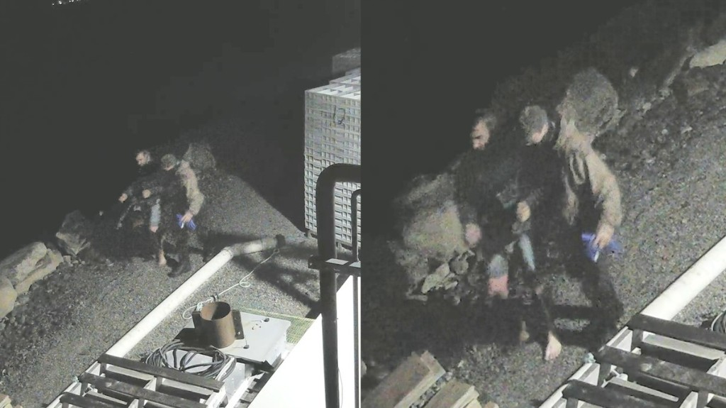 RCMP Looking for Two Men Seen in Video Near Torched Lobster Pound