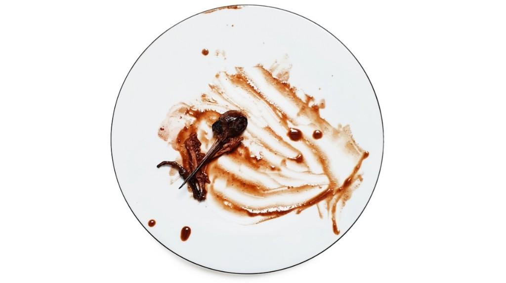 La poésie de l'assiette vide