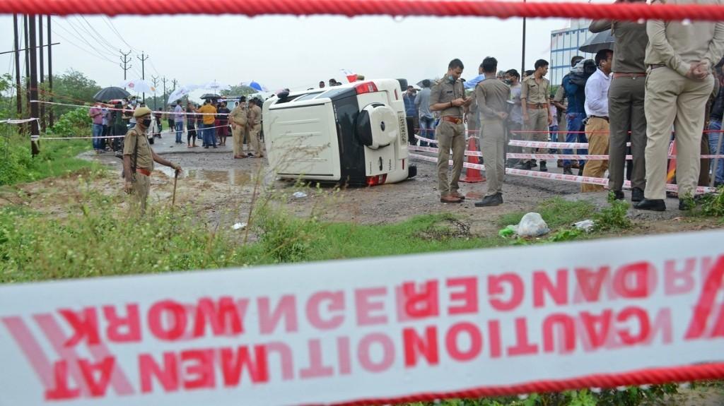 Indian Mafia Kingpin Vikas Dubey Shot Dead in Police Encounter