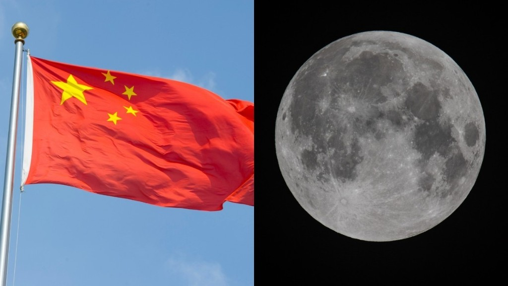 China Becomes Second Nation to Plant a Flag on the Moon