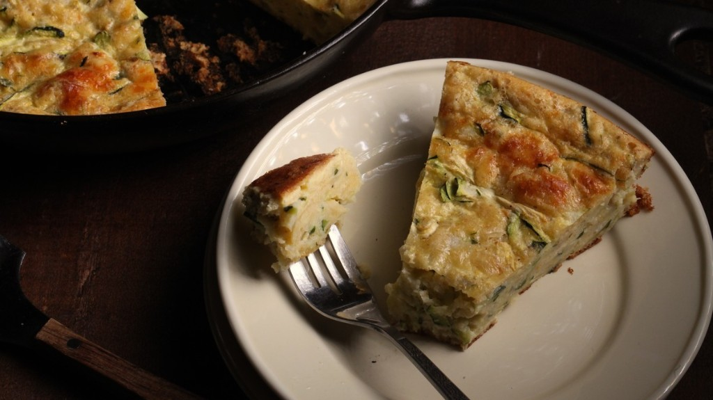 Cakey Zucchini Frittata Recipe