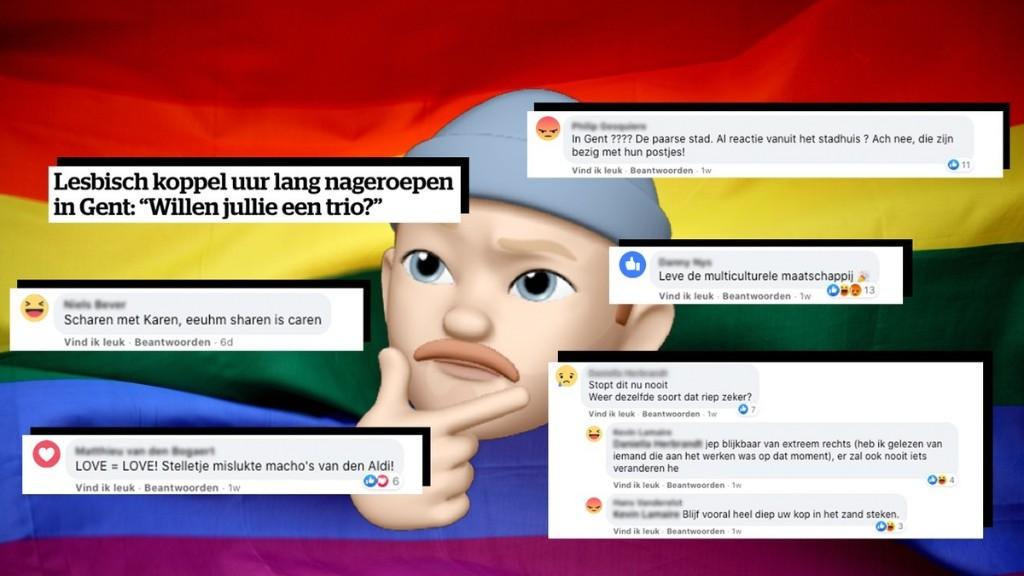 5 bedenkingen bij de reacties op geweld tegen een lesbisch koppel in Gent