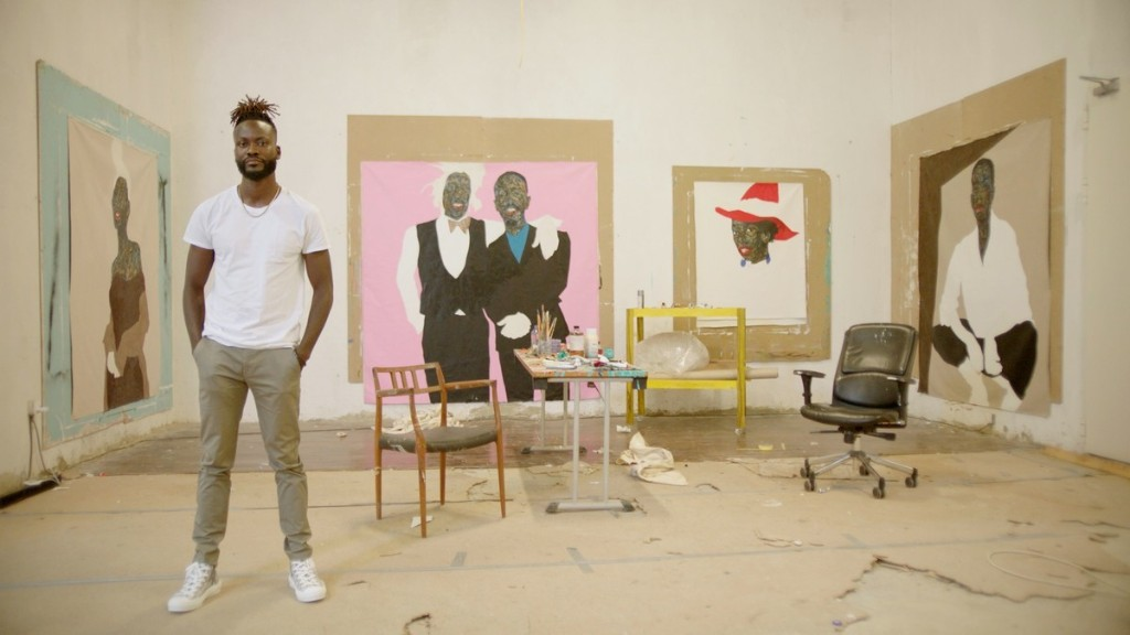 Amoako Boafo is nuancing how Black men are represented in painting