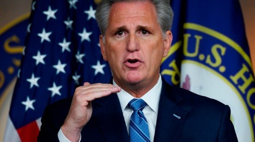 Kevin McCarthy Is Returning the Cash He Took From Rudy Giuliani's Indicted Pals