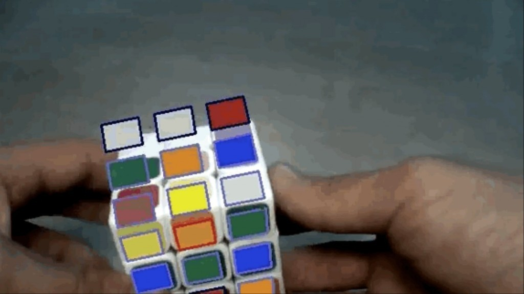 Augmented Reality Lets You Solve a Rubik's Cube In 20 Moves Or Less