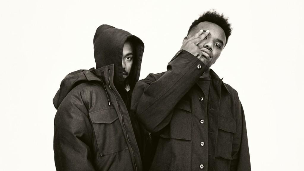 Kendrick Lamar in conversation with Baby Keem