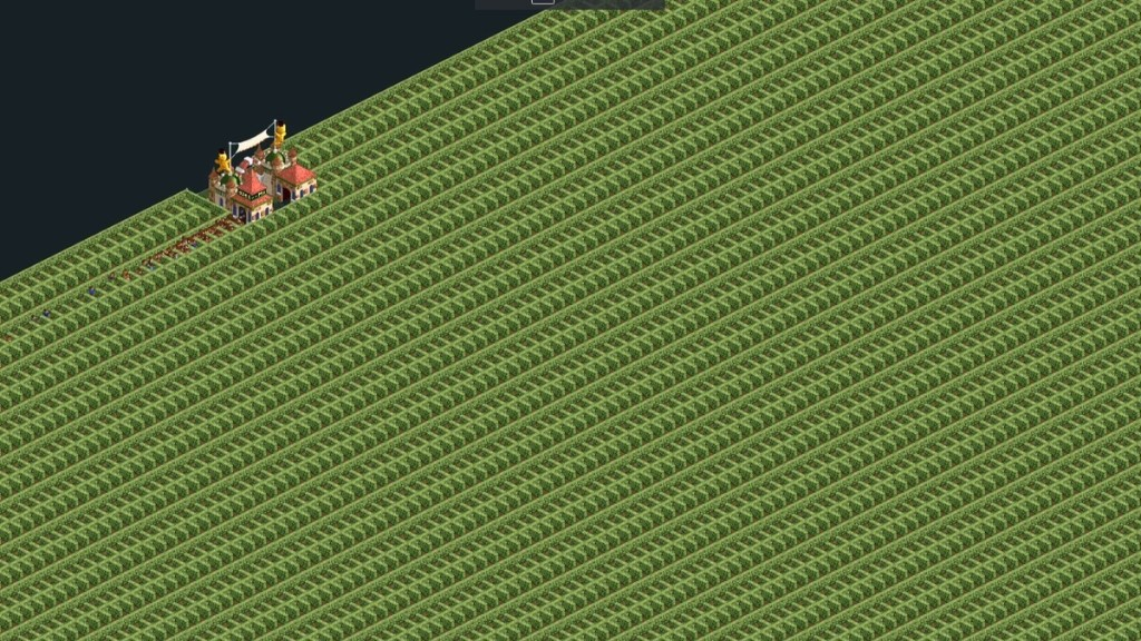 This 'RollerCoaster Tycoon' Maze Takes Trillions of Years to Complete