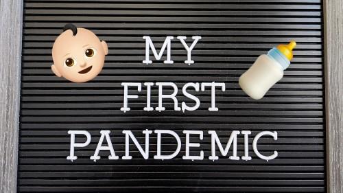 Padres de familia documentan 'La primera pandemia del bebé' en Instagram