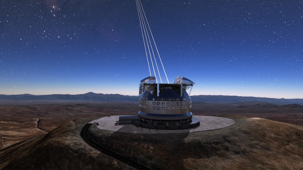 The World's Largest Telescope Is Being Built So We Can Finally Find Aliens