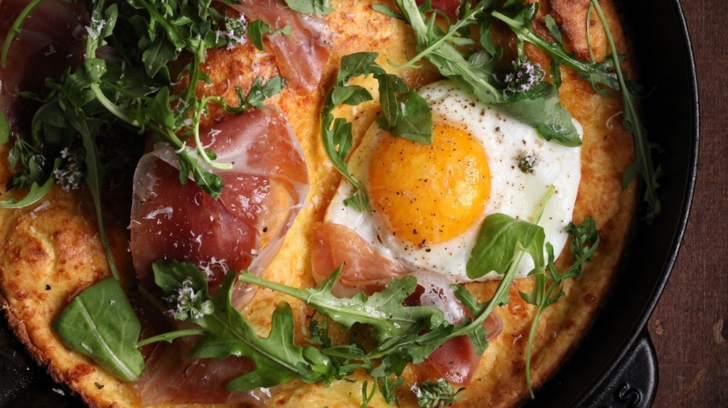 Parmesan and Lemon Dutch Baby Pancake Recipe