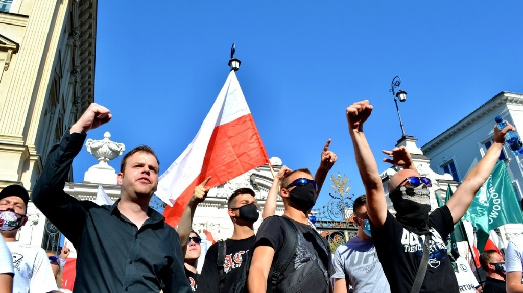 Nationalists Are Angry that Poland Isn't Homophobic Enough