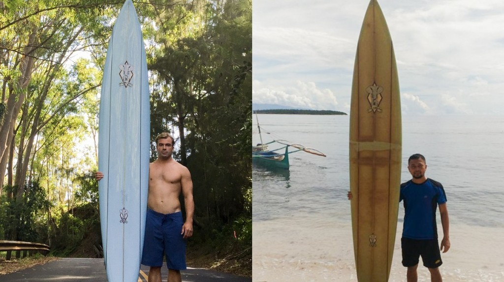 A Surfboard That Went Missing in Hawaii Was Found in the Philippines Two Years Later