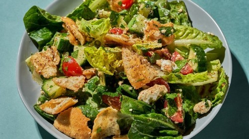 Easy Fattoush Salad Recipe