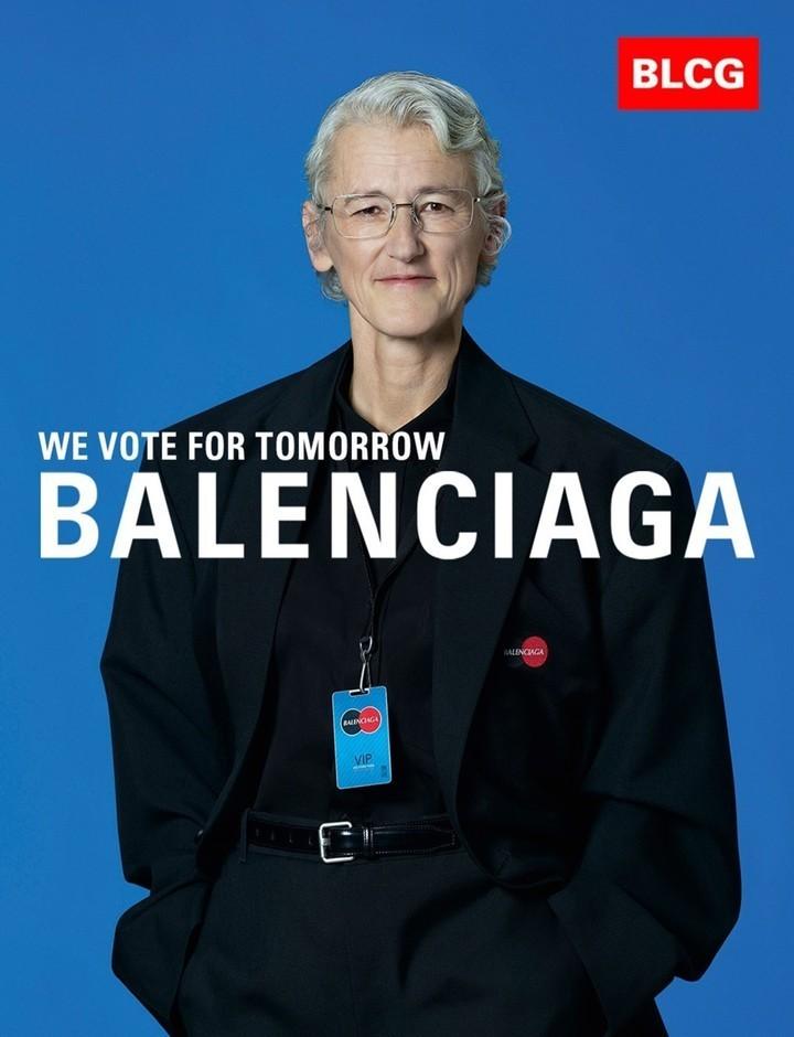 Balenciaga get political in their SS20 campaign