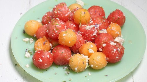 Easy Melon Salad Recipe